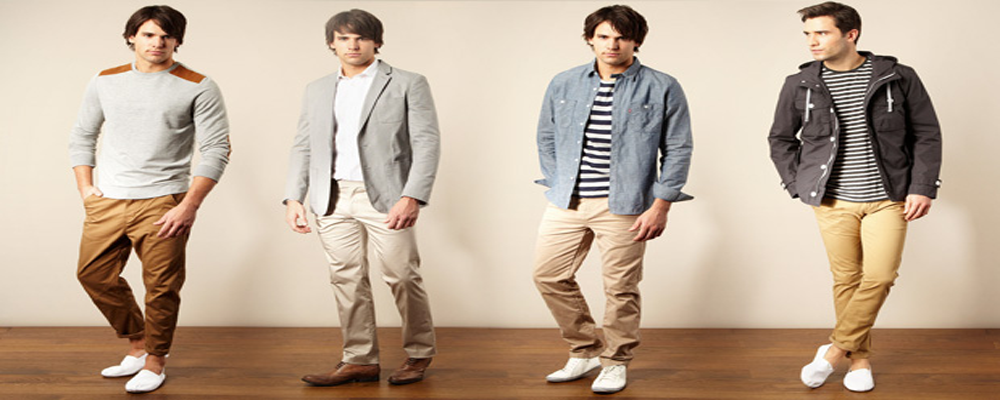 Chinos for Men from Austin Reed Offer Luxury of Choice